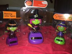 Solar Powered Dancing Big Witch Lot of 3  2015 + FREE Gift!! NIP
