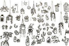 Doodles galore for your bullet journal // instagram