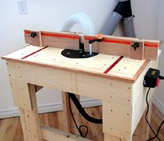 This versatile, easy to build router table has the following dimensions, 32 inches wide and 24 inches deep. The router table plan dimensions can be changed to suit your requirements. The router table insert is offset towards the front of [...]