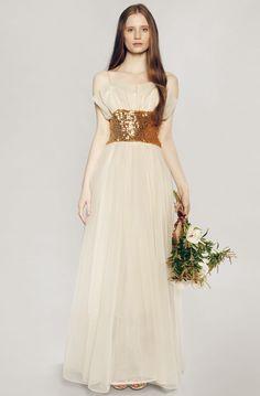 vintage rue de seine wedding dress 39 bmodish