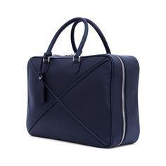 Loewe Bags - CROSS SOFT SUITCASE 55 Blue