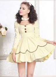 Unique, Elegant Designer Yellow Long Sleeve Cotton Princess Lolita Outfits for Full Selection of fashion lolita, Tailor Made, Fast Shipping. Buy Yellow Long Sleeve Cotton Princess Lolita Outfits Now! Cute Little Girl Dresses, Cute Girl Outfits, Girly Outfits, Pretty Outfits, Kawaii Fashion, Lolita Fashion, Girl Fashion, Cheap Fashion, Frilly Dresses