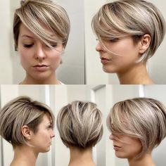 Hairstyles For Layered Hair, Layered Haircuts For Women, Short Bob Hairstyles, Fall Hairstyles, Wedding Hairstyles, Homecoming Hairstyles, Undercut Hairstyles, Party Hairstyles, Celebrity Hairstyles