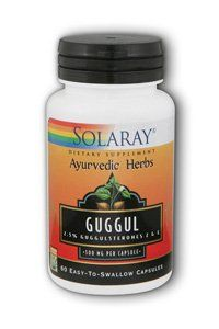 Solaray - Guggul Gum Extra, 60 capsules by Solaray. $16.99. Solaray - Guggul 450mg - 60ct Cap. 2.5% guggulsterones Z & E 500 mg per capsule Capsule Size 0. Save 24% Off!