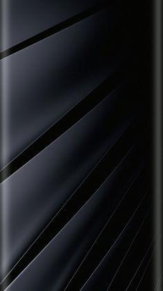 Navy Wide Stripes Wallpaper