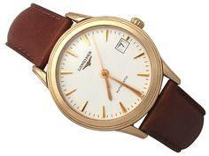Longines Flagship 18 ct Rose Gold Gent's Wrist Watch - Vintage Circa 1990 http://www.acsilver.co.uk/shop/pc/Longines-Flagship-18-ct-Rose-Gold-Gent-s-Wrist-Watch-Vintage-Circa-1990-261p4990.htm