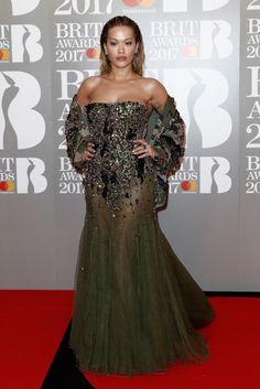 Rita Ora In Alexandre Vauthier Fall 2016 Couture