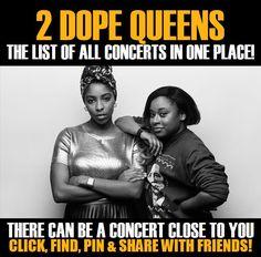 2 Dope Queens in your city! Concerts dates & tickets. #music, #show, #concerts, #events, #tickets, #2 Dope Queens, #rock, #tix, #songs, #festival, #artists, #musicians, #popular,  2 Dope Queens