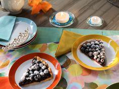 Blueberry Tart recipe from Valerie Bertinelli via Food Network