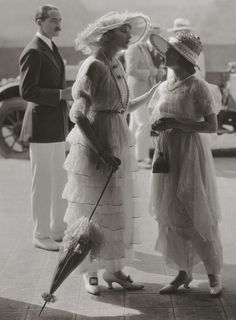 Anna Q. Nilsson and Ethel Clayton - 1919. This is so sweet. And look how beautiul everyone is. TG