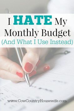 """No matter how many times I tried re-working my monthly budget, I always wound up with too much month at the end of my money. Something had to change! I found a method of budgeting that changed the way I look at my budget and made it so much easier to stick to! It's one of those """"this is too easy"""" moments, but you'll be glad you know it!"""