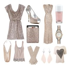 All Things Lovely: Fashion : Blush Sparkle