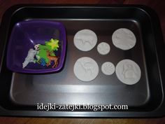 DIY: winter moulds (modelling clay craft)