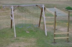 More good tips for swings and monkey bars...    I'm going to be building some heavy duty play equipment in the backyard (monkey bars, climbing wall) and need to bury some post ends. I read that the
