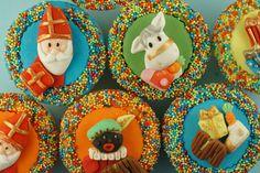 Suikertantje, leuke Sinterklaas cupcakes