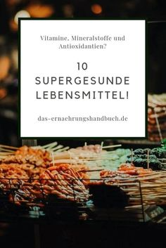 10 supergesunde Lebensmittel! - Gemüse und Obst sind immer gut – klar. Aber welche Lebensmittel sind denn sonst noch supergesund? Hier eine Liste von 10 supergesunden Lebensmitteln! #Erdnüsse, #Gesund, #Joghurt, #Krabben, #Lachs, #Linsen, #Magermilch, #Pintobohnen, #Quinoa, #Schalentiere, #Superfood, #Weizenkeime Superfood, Letter Board, Cards Against Humanity, Lettering, Healthy, Quinoa, Crabs, Fruit Recipes, Healthy Groceries