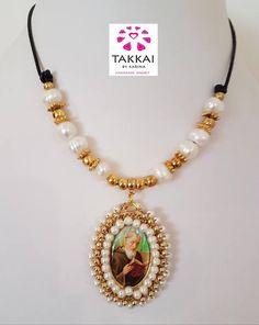 St. Benedict Necklace Collar San Benito Collar de Perlas Pearls Necklace