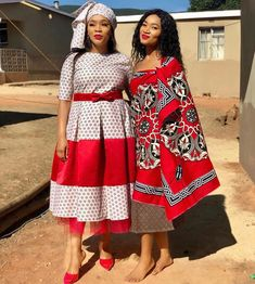 Lobola ceremony inspo 🔥🔥🔥 Totally loving this combo Images from . African Attire, African Wear, African Women, African Dress, African Beauty, African Print Fashion, African Fashion Dresses, Fashion Outfits, African Prints