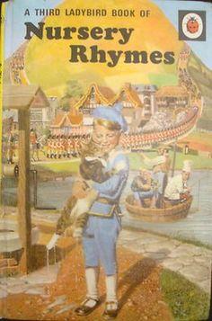 """A Third Ladybird Book of Nursery Rhymes"", Ladybird Illustrator:- Frank Hampson 1970s Childhood, My Childhood Memories, Childhood Toys, School Memories, Sweet Memories, I Love Books, My Books, Story Books, Ladybird Books"