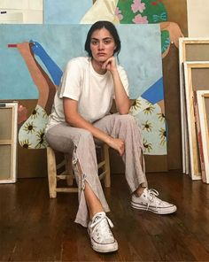 How to Wear a White T-Shirt for the Whole Week - Fashion Teenage I Love Fashion, Girl Fashion, Style Fashion, Fashion Trends, All Star Branco, Stylish Outfits, Cute Outfits, T Shirt Branca, Artist Aesthetic