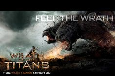 The saga continues... Wrath of the Titans 3D...sometimes i can be such a nerd.