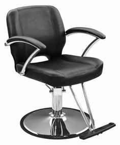 The mezzo styling chair has comfortable, sculpted cushions for premium comfort for clients. Find affordable salon chairs and stools at Boss Beauty Supply. Salon Furniture, Furniture Logo, Metal Furniture, Furniture Deals, Salon Styling Chairs, Salon Chairs, Hair And Beauty Salon, Chair Types, Barber Chair