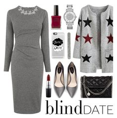 """What to Wear: Blind Date"" by lgb321 ❤ liked on Polyvore featuring Zara, STELLA McCARTNEY, Whistles, MAC Cosmetics, Casetify, J.Crew, Michael Kors, women's clothing, women and female"