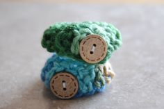 Baby ID Bracelets- Multi color green and blue- Twin baby anklets by EverythingPrecious on Etsy