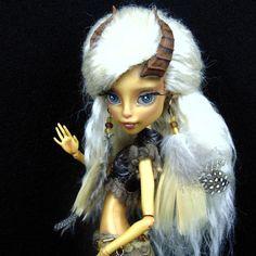 "Custom OOAK Monster High Gilda Goldstag ""Loxie"" by Skeriosities #Mattel #DollswithClothingAccessories"