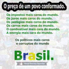 Brasil ladrão mesquinho