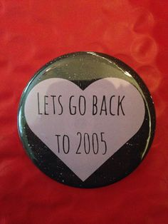 Let's Go Back 2.5 Inch Pinback Button by SarcasticSister on Etsy