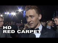 Thor 2: The Dark World: Tom Hiddleston World Premiere Movie Interview All I way paying attention to was Luke in the background. If I was an interviewer, I would like to ask Luke some questions. I'd like to get to know him better.