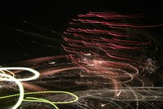 Fireworks above the sea. S'Illot, Mallorca. By Clara Mansergas