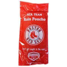 MLB Boston Red Sox Rain Poncho, Multicolor
