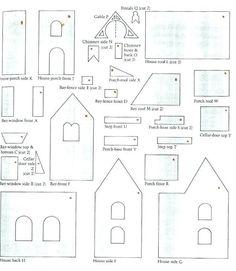 blueprint victorian gingerbread house template  5 Best Gingerbread house patterns images | Gingerbread ...
