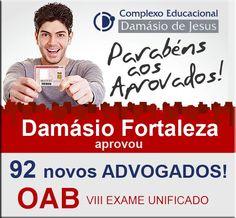 O DAMÁSIO FORTALEZA está em festa com a conquista de seus alunos!!!