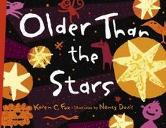 """Older Than the Stars"" by Karen C Fox. This is how to explain a concept as complex as The Big Bang to a child! A wonderful verse in the style of ""The House That Jack Built"" will keep preschoolers entertained, but there are also wonderful sidebars filled with scientific info for older kids.    An added bonus was that it helped my kids understand conservation of matter. Which, in turn, had them asking about death. That discussion helped them feel better about their own mortality…"