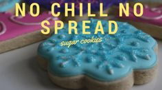 No Chill No Spread Sugar Cookie Recipes by 6 Cakes & More! Enjoy the many cut out cookie flavors that we have which include cream cheese, salted caramel, birthday cake, cinnamon bun, and red velvet! Cream Cheese Sugar Cookies, Sugar Cookies Recipe, No Spread Sugar Cookie Recipe, Iced Cookies, Cookie Flavors, Cookie Recipes, Icing Recipes, Cookie Ideas, Dessert Recipes