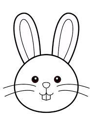 """Résultat de recherche d'images pour """"dessin lapin tres facile"""""""