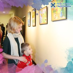 At the end of January, 2017 Saint Andrew Charity Foundation, with the assistance and support of Director of the Institute of Religious Sciences of St. Thomas Aquinas in Kiev father Wojciech, we presented exposition of children's artworks and personal exhibition of embroidery by Valentina Peresada «Inspiration of heart and soul».  Everyone who wants to see the exhibition, can visit it at the address: Kyiv, Yakira str., 13, the 2nd floor.