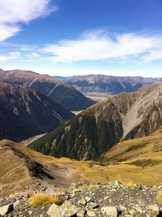 Arthur's Pass National Park, Southern Alps, Canterbury, South Island, New Zealand