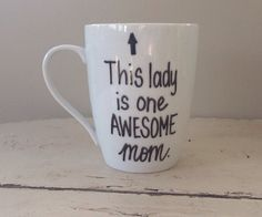 Awesome mom mug gift for mom Mother's Day by simplymadegreetings, $11.00