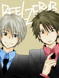 Read Beelzebub Manga Online in Hight Quality. Ghibli, Beelzebub Manga, Funny Drawings, Hot Anime Boy, Cultura Pop, Anime Ships, Webtoon, Demons, Kawaii Anime