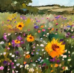 """Daily Paintworks - """"Almost Saturday"""" - Original Fine Art for Sale - © Libby Anderson"""