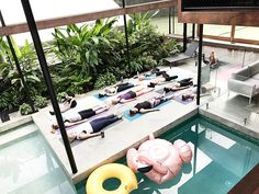 Sharing a relaxing moment of meditation after a barre flow class is the only way to spend a Sunday in Noosa with new friends. This weekend our editor and one lucky Style winner spent time enjoying the @barrebrisbane retreat challenges are always the best opportunities! #barrebabes #barreretreatnoosa #meditation #flex #fuel #flourish #getaway #visitnoosa #relax #littlecove #meditation  via FASHION TRENDS on INSTAGRAM -Celebrity  Fashion  Haute Couture  Advertising  Culture  Beauty  Editorial…