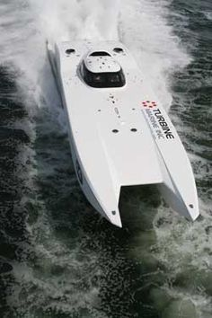 An MTI turbine, mph. Fast Boats, Cool Boats, Speed Boats, Power Boats, High Performance Boat, Offshore Boats, Float Your Boat, Yacht Boat, Super Yachts