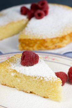 1950s Hot Milk Sponge Cake Hot Milk Sponge Cake Recipe, Hot Milk Cake, Sponge Cake Recipes, Poke Cakes, Layer Cakes, Bundt Cakes, Cake Recipes From Scratch, Easy Cake Recipes, Biscotti