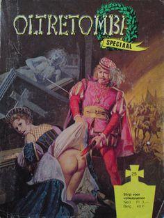 Cover for Oltretomba speciaal (De Vrijbuiter; De Schorpioen, 1973 series) #25