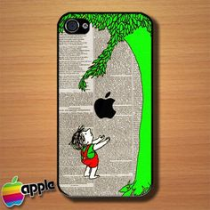 The Giving Tree Custom iPhone 4 or 4S Case Cover | Merchanstore - Accessories on ArtFire