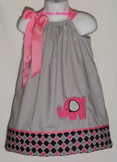 Spring Fling Knot Dress by Ruby Pearl Boutique Style Baby / Girl ...